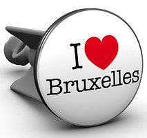 Plopp Waschbeckenstöpsel I love Bruxelles