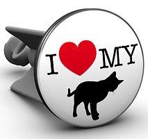 Plopp Waschbeckenstöpsel I love my cat