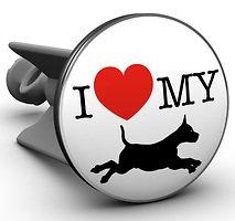 Plopp Waschbeckenstöpsel I love my dog