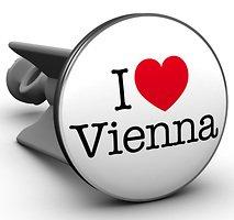 Plopp Waschbeckenstöpsel I love Vienna