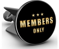 Plopp Waschbeckenstöpsel Members only