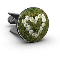 Plopp Waschbeckenstöpsel Gänseblümchen Herz