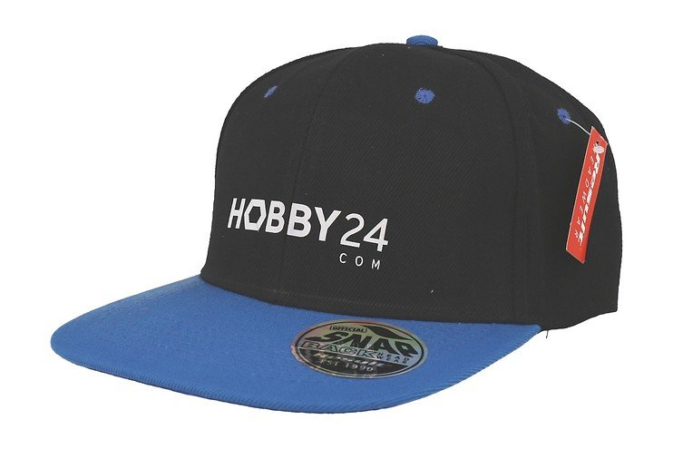 Hobby24.com Basecap schwarz blau