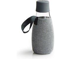 Retap Sleeve Flaschenhülle für 0,3 l Flasche grau