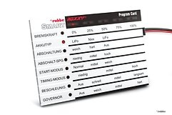 Robbe ROXXY® Smart Program Card Englisch