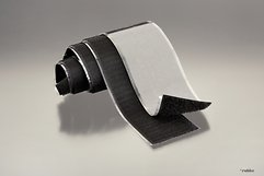 FASTECH FAST-Tape Klettband selbstklebend 50 x 500 mm schwarz