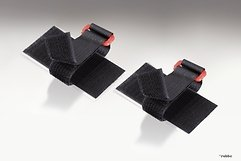 FASTECH FAST-Akkufix Klettband selbstklebend 2er Set 50 x 100mm schwarz