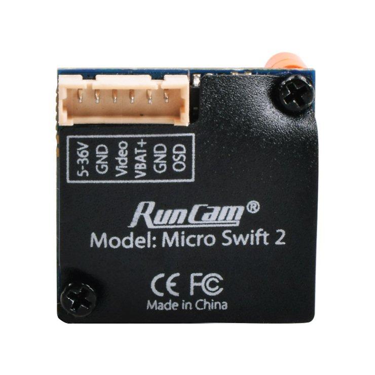 Runcam Micro Swift 2 FPV Kamera - orange - 2.1 Linse - Pic 2