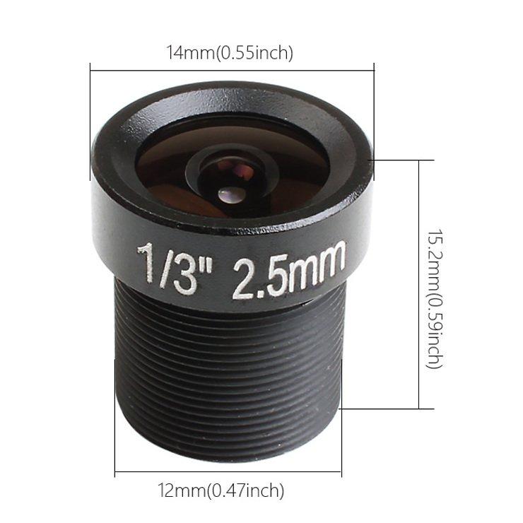 RunCam RC25 FPV Linse - 2,5mm - FOV130 - Weitwinkel - Pic 3