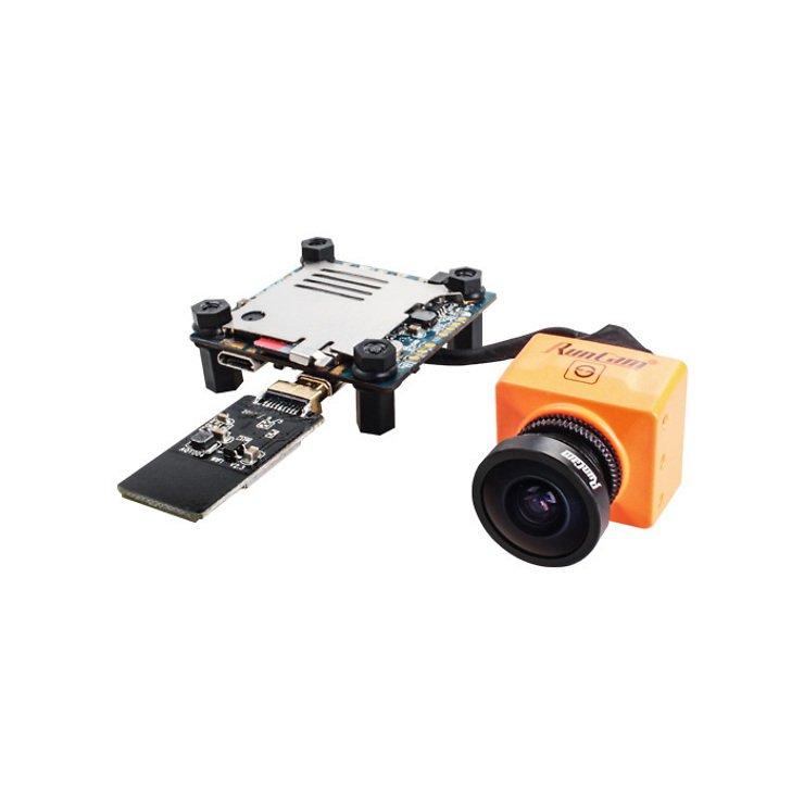 Runcam Split 2 FPV Kamera - orange - mit WiFi Modul - Pic 1