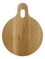 Sagaform Schneidebrett Oval Oak rund 32,5 cm