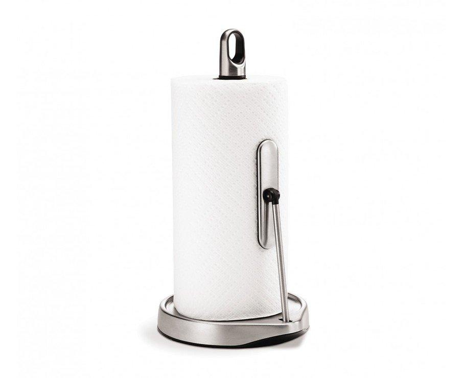 Simplehuman Küchenrollenhalter Edelstahl gebürstet - Pic 1