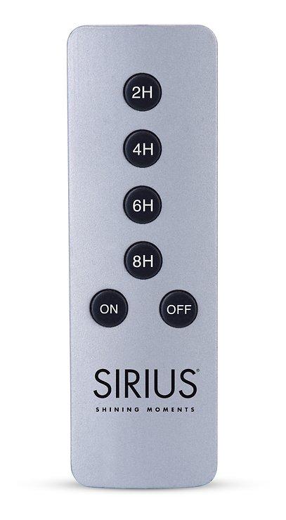 Sirius Fernbedienung silber Aluminium - Pic 1