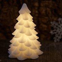 Sirius LED Tannenbaum Carla Echtwachs 15 cm weiß