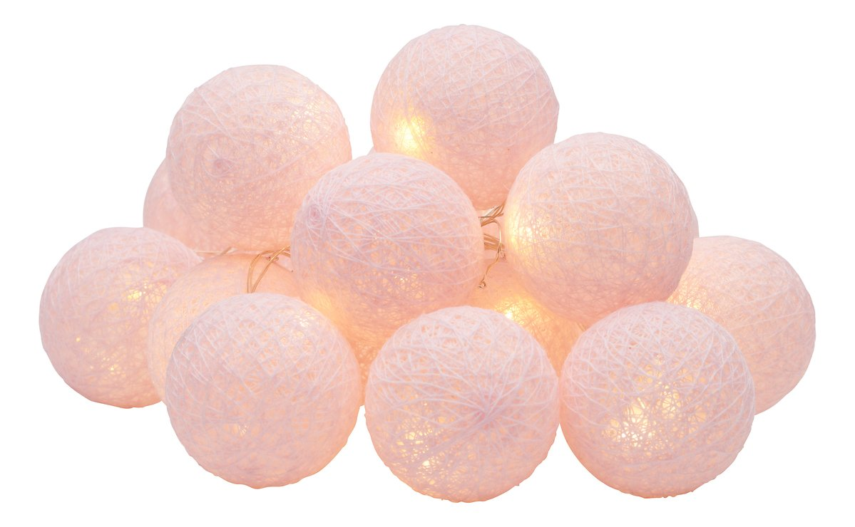 Sirius Lichterkette Bolette Mini 16 LED 1,5m batteriebetrieben Pure Blush - Pic 2