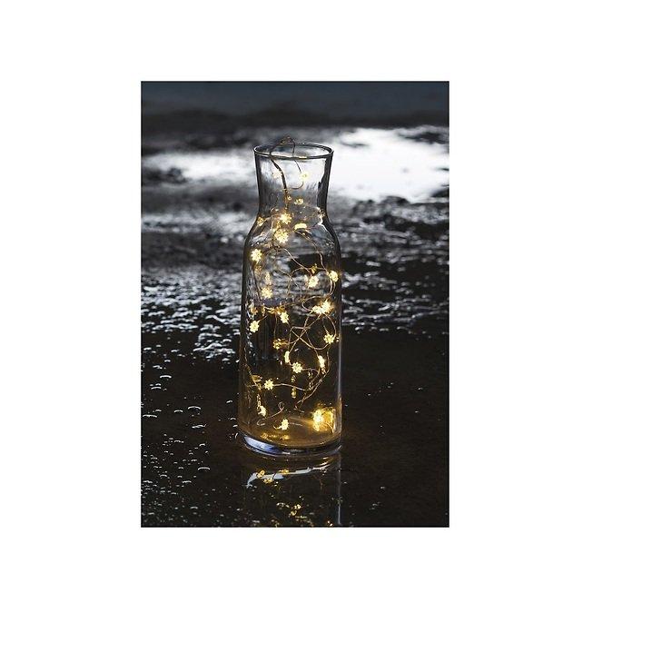 Sirius Lichterkette Silke 20 LED Blumen batteriebetrieben innen 1,9m - Pic 2
