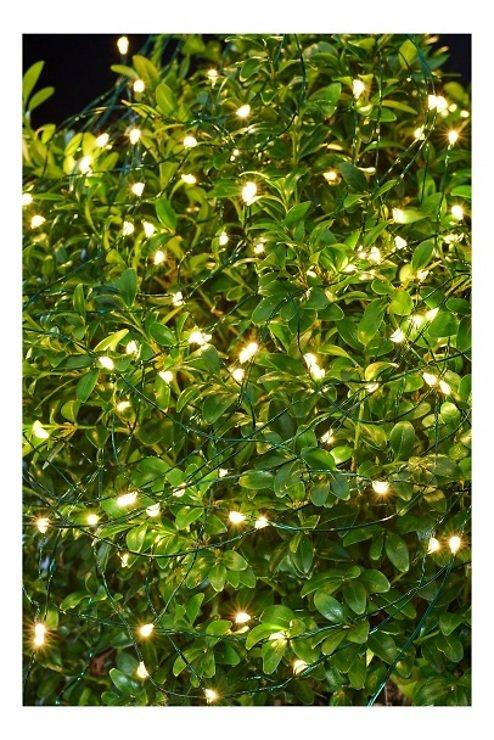Sirius Lichterkette Knirke 350 LED an Metallsträngen außen 15 x 2,7 m grün - Pic 1