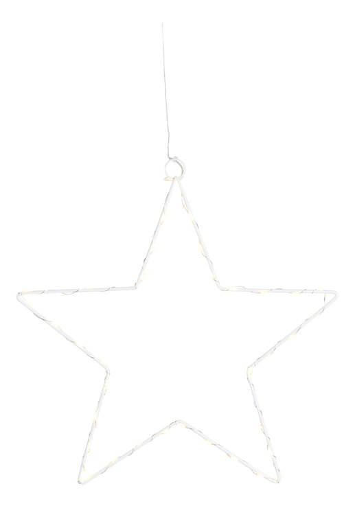 Sirius LED Leuchtstern Liva Star big 70cm Metall weiß - Pic 2