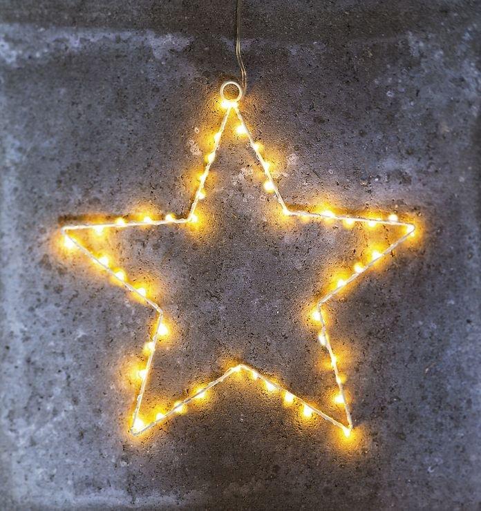 Sirius LED Leuchtstern Liva Star big 70cm Metall weiß - Pic 5