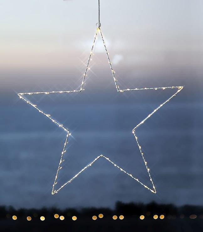 Sirius LED Leuchtstern Liva Star big 70cm Metall weiß - Pic 1