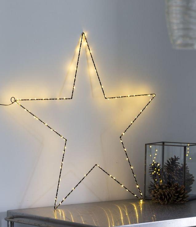 Sirius LED Leuchtstern Liva Star big 70cm Metall schwarz ...