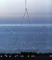 Sirius LED Leuchtstern Liva Star big 70cm Metall schwarz