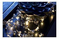 Sirius Lichterkette Juliet 20 LED 1,9 m Batterie Innen silber weiß