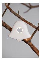 Sirius LED Leuchtanhänger Olina Bell 7,5cm Keramik weiß