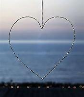 Sirius LED Leuchtherz Liva Heart big 70cm Metall schwarz