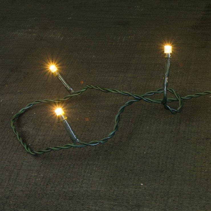 Sirius Lichterkette David 40 LED warmweiß außen 6m grün - Pic 2