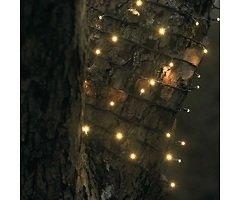 Sirius Lichterkette David 160 LED warmweiß außen 24m grün