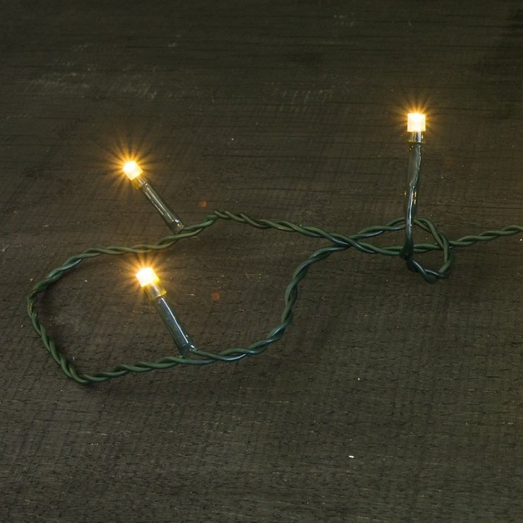 Sirius Lichterkette David 60 LED Blinkfunktionen außen 9,1m grün - Pic 2