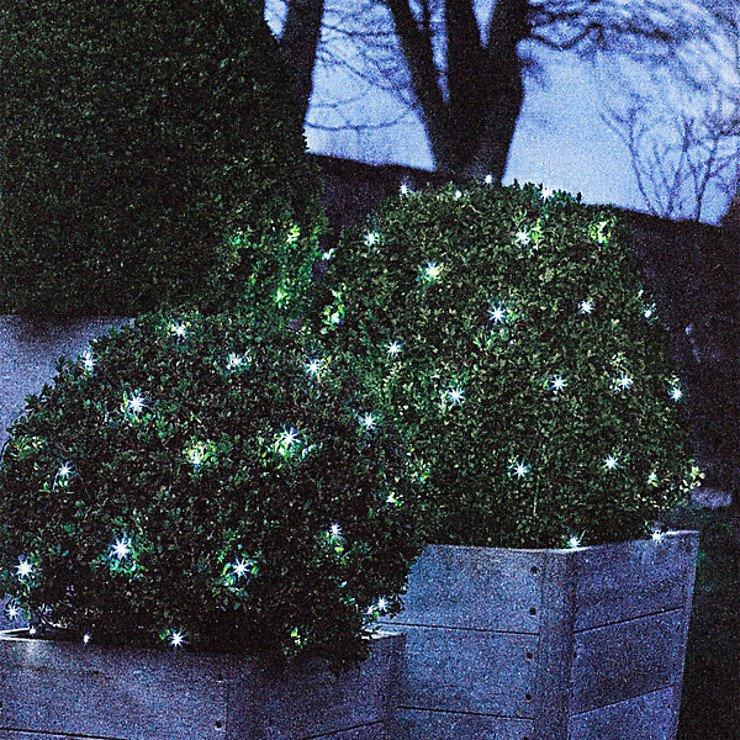 Sirius Lichternetz David 100 LED warmweiß außen 1 x 1m grün - Pic 3