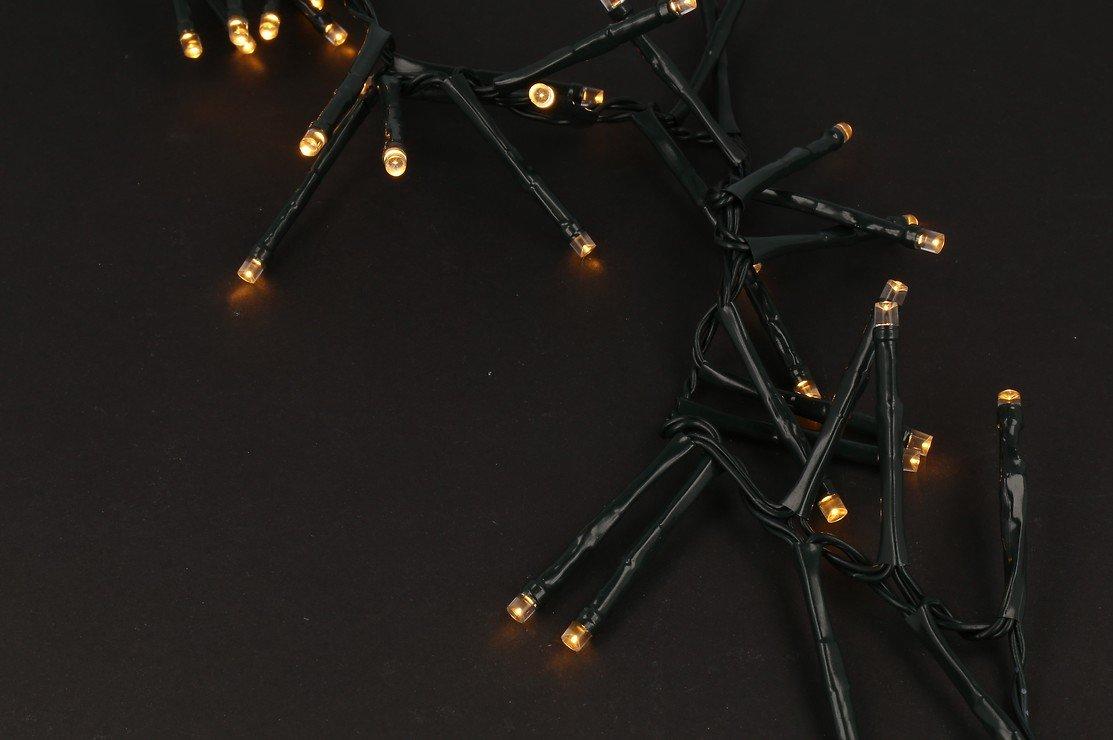 Sirius Lichterkette David Cluster 40 LED warmweiß außen 50cm grün - Pic 2