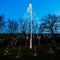 Sirius Lichterkette David Fahnenmast 360 LED warmweiß 10 x 7m grün - Thumbnail 1