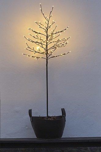 Sirius LED Baum Noah 280 LED warmweiß außen 180 cm braun