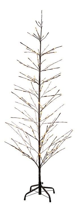 Sirius LED Baum Isaac Tree 228 LED warmweiß außen 160 cm braun beschneit - Pic 3