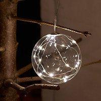 Sirius Leuchtkugel Pure Ball batteriebetrieben 16 LED 10cm klar