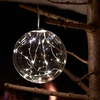 Sirius Leuchtkugel Pure Ball batteriebetrieben 20 LED 13cm klar