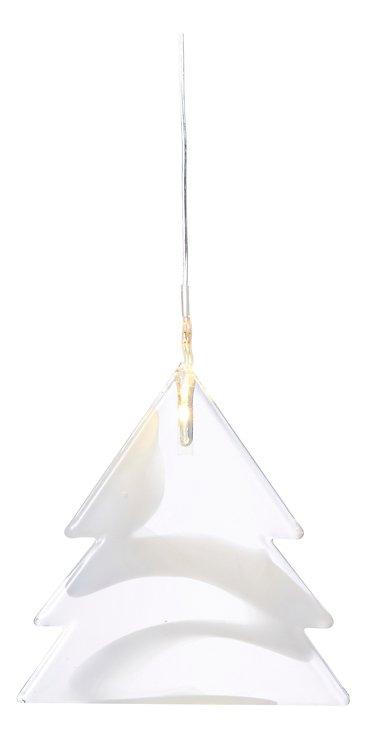 Sirius Leuchtanhänger Agnes Tree Glas 8,3cm 1 LED - Pic 2