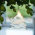 Sirius Leuchtanhänger Agnes Tree Glas 8,3cm 1 LED - Thumbnail 1