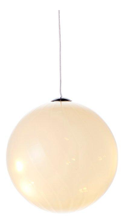 Sirius Leuchtkugel Heaven Ball 10 cm batteriebetrieben 8 LED Glas weiß - Pic 2
