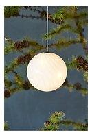 Sirius Leuchtkugel Heaven Ball 10 cm batteriebetrieben 16 LED Glas weiß