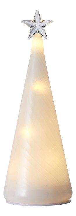 Sirius Leuchtbaum Heaven Tree 10 LED 22 cm Glas weiß - Pic 2