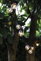 Sirius Lichterkette Lucas Starter Set 10 LED klar außen 3m schwarz
