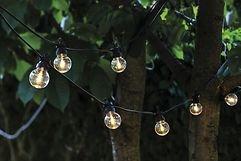 Sirius Lichterkette Lucas Ergänzung 10 LED klar außen 3m schwarz