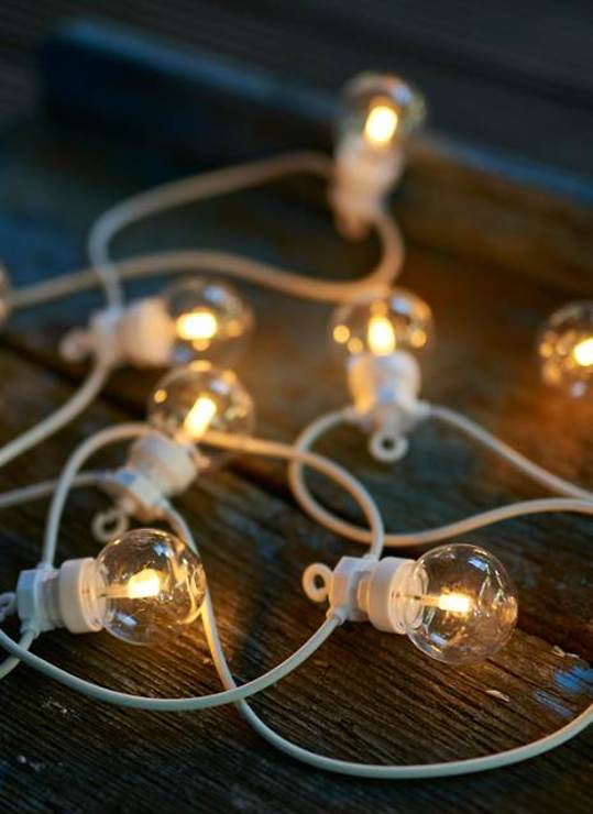 Sirius Lichterkette Lucas Ergänzung 10 LED klar außen 3m weiß - Pic 1