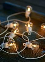 Sirius Lichterkette Lucas Ergänzung 10 LED klar außen 3m weiß