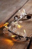 Sirius Lichterkette Gabrielle 16 LED batteriebetrieben 1,2m Acryl-Sterne klar