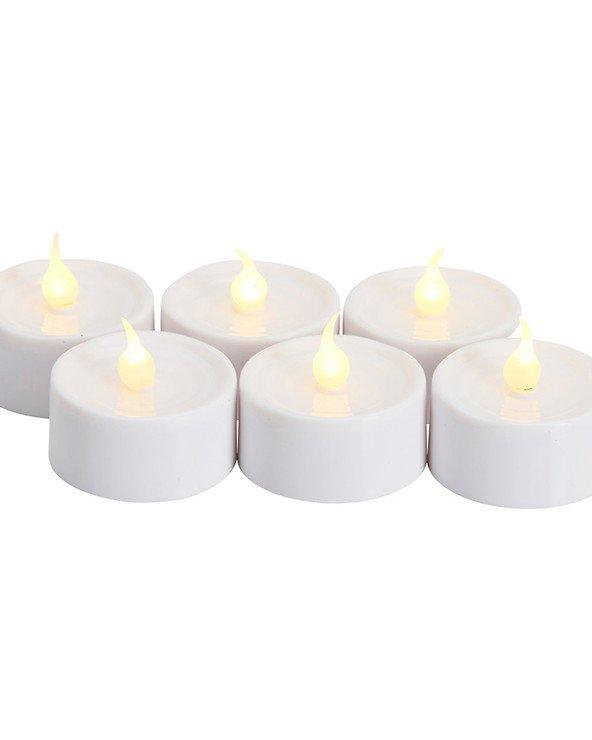 Sirius LED Teelichter Lone 3,5cm 6er Set weiß - Pic 4